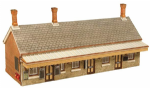 Bachmann Scenecraft 44-144 OO Scale Highley Station Booking Hall 215mm x 80mm x 105mm